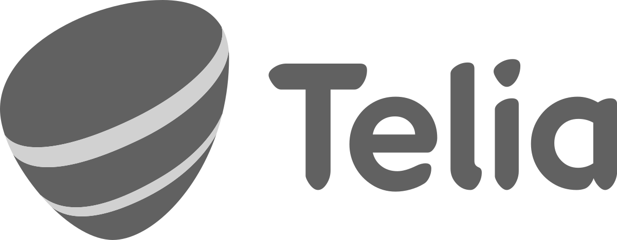 Telia gå logo kunder hos Wewent