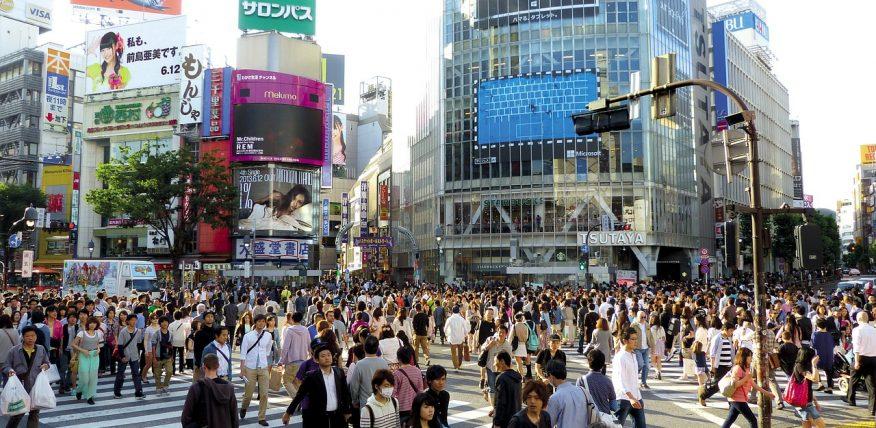 Tokyo stad med vimmel perfekt för gruppresor med Wewent