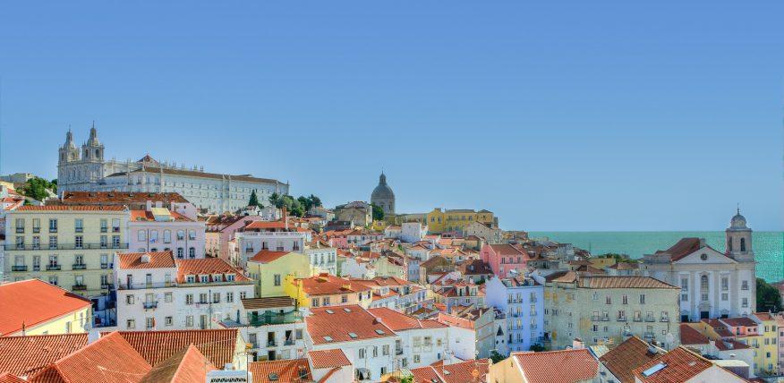 Lissabon wewent företagsresa till Portugal